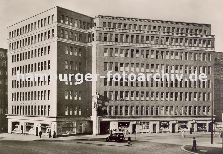 historische hamburg motive aufnahme des mohlenhofs im kontorhausviertel ca 1936 hamburger. Black Bedroom Furniture Sets. Home Design Ideas