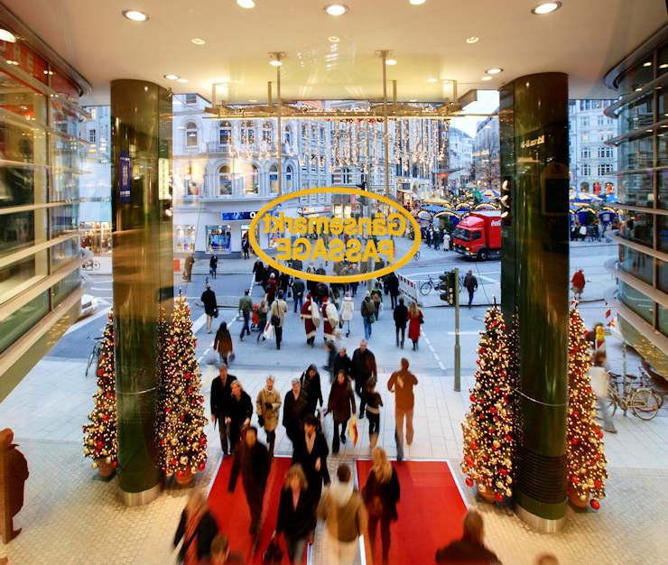 Weihnachtsbilder Hamburg.3269 2 Weihnachtsdekoration In Der Gänsemarktpassagen