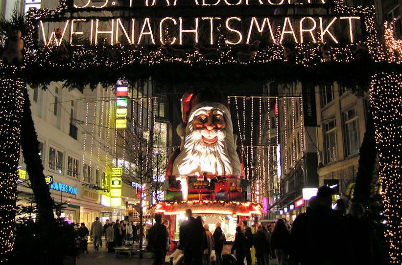 Weihnachtsbilder Hamburg.4568 Pb290014 Eingang Weihnachtsmarkt An Der Spitaler Strasse