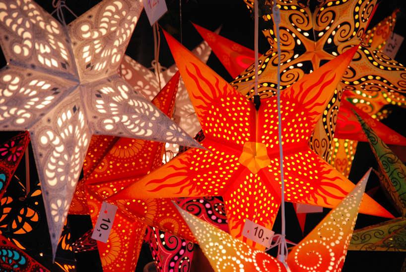 Weihnachtsdeko Papiersterne.6121 3678 Angebot Weihnachtsmarkt Papierstern Leuchten Als