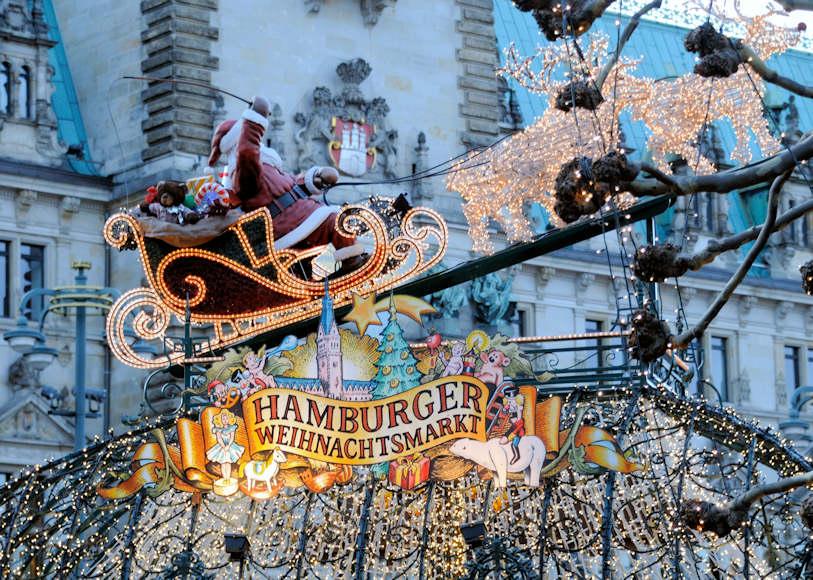 Hamburger Weihnachtsmarkt.1091 1229 Hamburger Weihnachtsmarkt Rathaus Hamburg