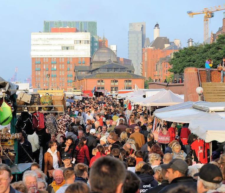 Hamburg Markt Sonntag
