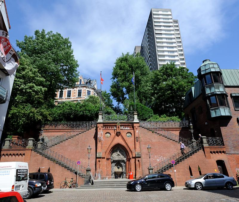 Treppe Hamburg 89 3888 köhlbrandtreppe in hamburg altona stadtteil altona