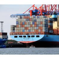 0917 Heck Containerriese CORNELIA MAERSK - winziges Sportboot |