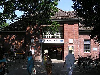 Haltestelle Langenhorn Markt U Bahnhof Hamburg