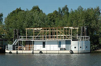 spreehafen kormoran potsdamer ufer binnenschiffe hausboote hafen bilder fotos hamburg. Black Bedroom Furniture Sets. Home Design Ideas