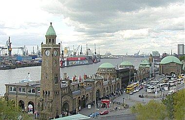 Hamburg Hafen Landungsbr�cken