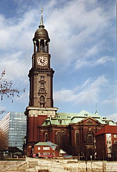 Hamburg Kirchen St. Michaelis Schaarmarkt