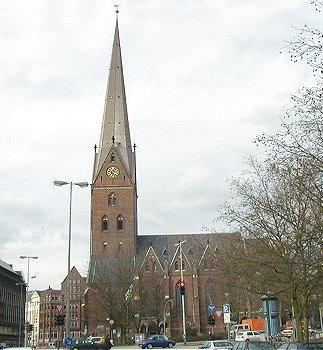 Hamburg Kirchen St. Petri