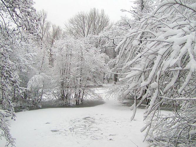 Hoher Schnee