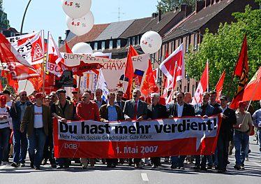 Mai Demo Hamburg 2021